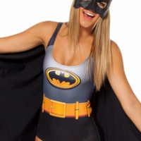 Classic Batman One Piece Bathing Suit