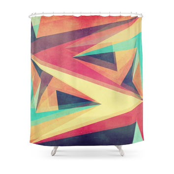 Society6 Directions Shower Curtains