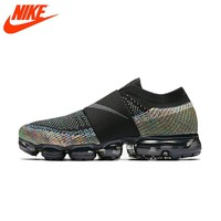 Original New Arrival Authentic Nike Shoes Air Vapor Max Fly Line Rainbow Cushion Cushion Comfortable Running Shoes
