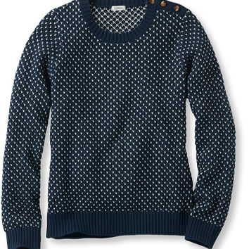 Women's Coveside Sweater, Pullover Birdseye | Free Shipping at L.L.Bean