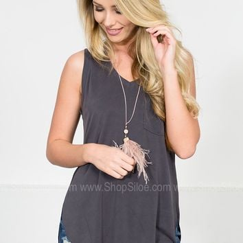 Margot Modal Pocket Tank | Colors