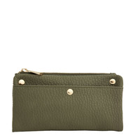 Mady Foldover Wallet in Cedar Green