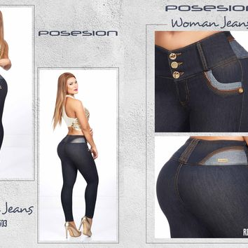 9bd9f09d91 100% Authentic Colombian Push Up Jeans 8503 by Posesion ...
