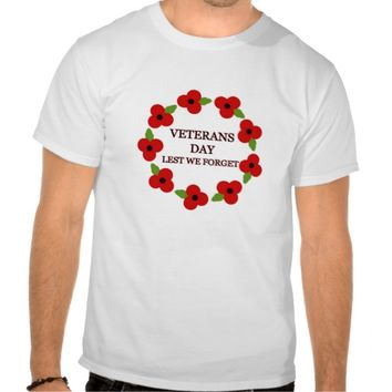 Poppy wreath - T-shirt