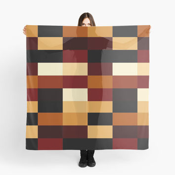 Earth Tones Scarf by liberations