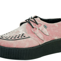 Pink Crushed Velvet Creeper