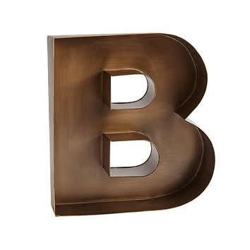 Magnificent Metal Letters (Gold)