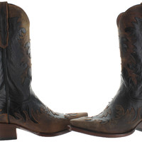 Dan Post Amy Women's Western Cowboy Boots Leather