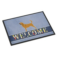 Bloodhound Welcome Indoor or Outdoor Mat 18x27 BB5488MAT