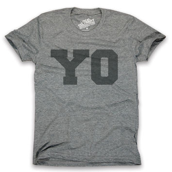 Yo T-Shirt Black Print