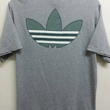 Sale Made In Japan Adidas Trefoil Logo Style Casual Indie Mods Hip Hop TShirt
