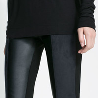 COMBINED LEGGINGS - Trousers - Woman | ZARA United States