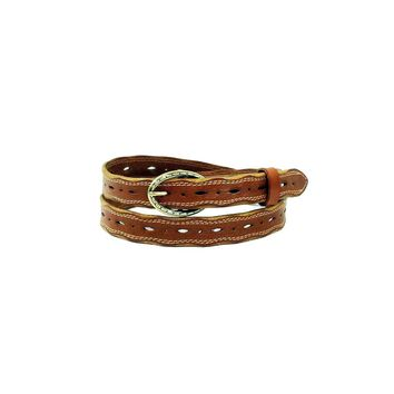 Edge Brown Leather Belt