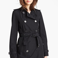 Burberry Brit 'Buckingham' Packable Trench | Nordstrom