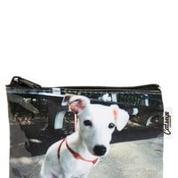 Women's Catseye London 'Jack Russell' Coin Purse - Grey