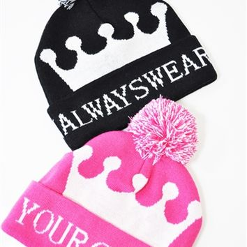 Beanie Always Wear Your Crown
