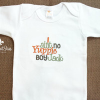 Boys Duck Dynasty Baby Boys Onesuit - SALE - Embroidered - Si Sayings - Baby Shower Gifts - Yuppie Boy- Jack