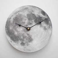 Full Moon Clock by CyberMoon on Etsy