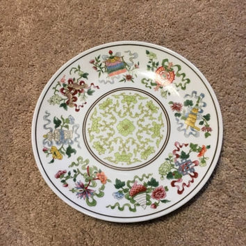 5 DAY SALE (Ends Soon) Vintage Chinese Decorative Porcelain Plate