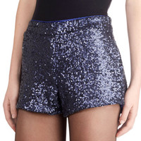 ModCloth Luxe Sequined Admirer Shorts
