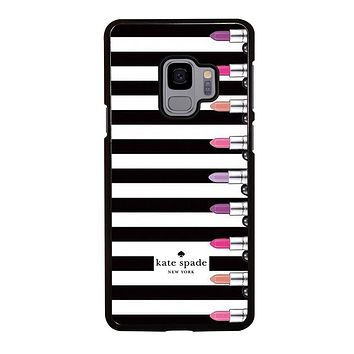 KATE SPADE LIPSTICK Samsung Galaxy S9 Case Cover