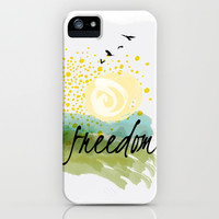 Freedom iPhone & iPod Case by Susan Weller