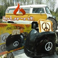 Classic 1960's Peace Sign Toaster - Make Toast, Not War!