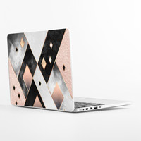 Art Deco Diamonds Laptop Skin