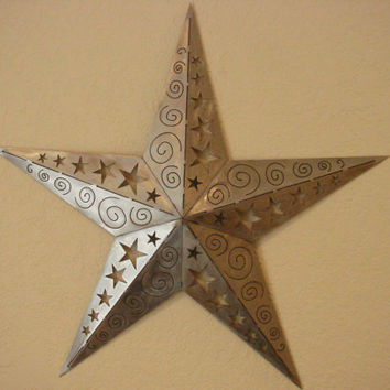 Pretty Geometric Metal Wall Decor Pictures Inspiration - Wall Art ...