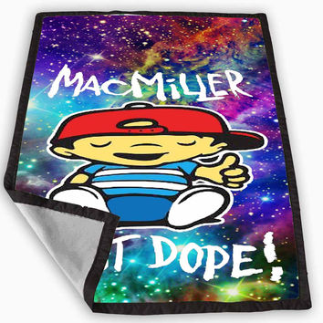 Mac Miller Most Dope galaxy Blanket for Kids Blanket, Fleece Blanket Cute and Awesome Blanket for your bedding, Blanket fleece **