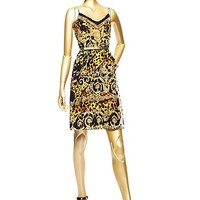 Versace - Barocco Pop Splash Silk Dress