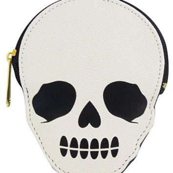 Skulls and Dots Coin Purse