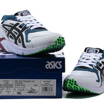 2017 New Asics GEL-DS Trainer Running Shoes Original For Men and Women OG H704Y-0190 High Quality Sport Sneaker Boots Shoes 36-44