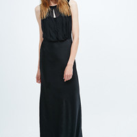 Ghost Claudia Long Dress in Black - Urban Outfitters