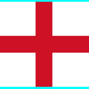 England ST GEORGE FLAG Iron on Screen Print for fabric Machine Washable Transfer | eBay