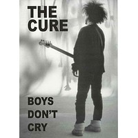 The Cure Boys Don't Cry Poster 24x33