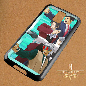 Wright Ace Attorney Samsung Galaxy S3 S4 S5 S6 S6 Edge Case | Galaxy Note 3 4 Case