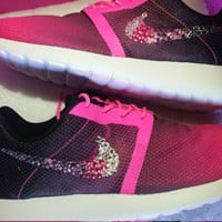 Customized Ombre Nike Roshe Shoes