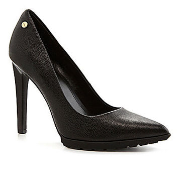 Calvin Klein Brigitte Pointed-Toe Pumps - Black