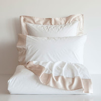 CONTRASTING SILK BED LINEN - Bed Linen - Bedroom | Zara Home United Kingdom