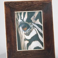 Wooden Picture Frame with Bone Inlay
