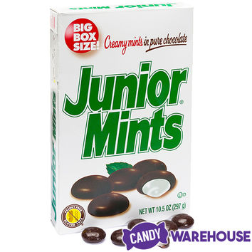 Junior Mints Candy 10.5-Ounce Big Box | CandyWarehouse.com