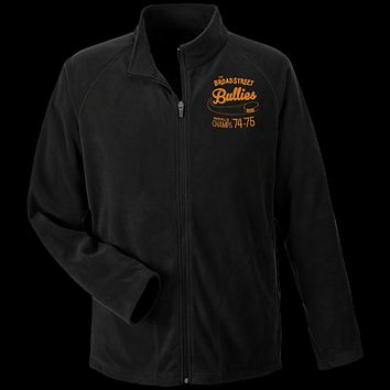 Retro Broad Street Bullies Embroidered Team 365 Microfleece