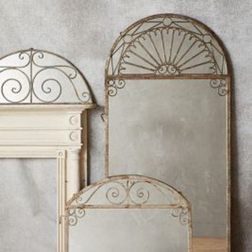 Villa Gates Mirror by Anthropologie in Multi Size: Large Wall Decor