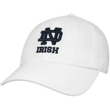 Notre Dame Fighting Irish '47 Brand Classic Franchise II Fitted Hat – White
