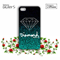 Glitter Diamond Supply Co iPhone 5, 5s, 5C, 4, 4S , Samsung Galaxy S3, S4, S5 , iPod Touch 4 / 5 Case