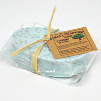 Exfoliating Goats Milk Soap for Men, Twilight Woods scented- 4 oz
