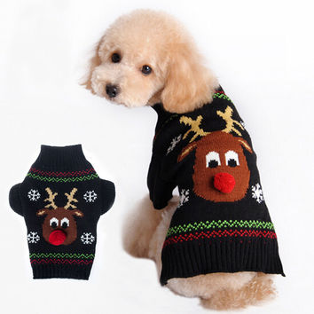 Pets Christmas For Cats & Dogs Winter Sweater [9199347652]