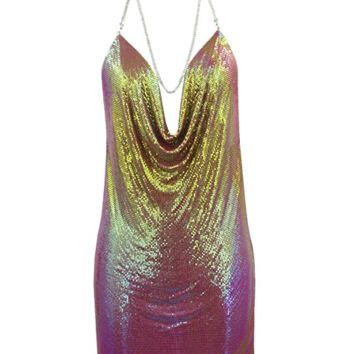 Kendall Sequin Dress Neons