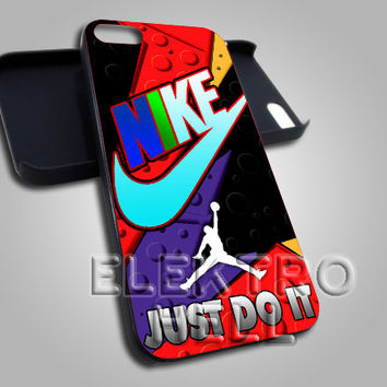 Nike Just Do It Jordan Raptor - iPhone 4/4s/5 Case - Samsung Galaxy S3/S4 Case - Black or White